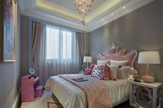 100平米别墅英伦风格卧室装修案例