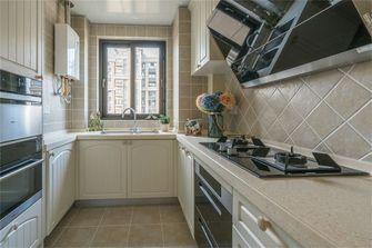 110平米三室两厅田园风格厨房设计图