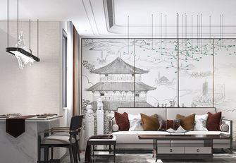 100平米三室一厅中式风格客厅图
