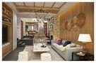 富裕型140平米三室三厅欧式风格楼梯装修效果图