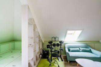 140平米四室两厅地中海风格阁楼设计图