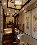 豪华型110平米复式中式风格楼梯装修案例
