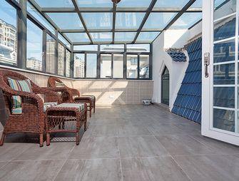 120平米复式美式风格阁楼效果图