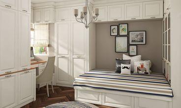 90平米三室两厅英伦风格儿童房效果图