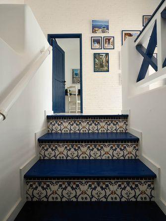 140平米别墅地中海风格楼梯间欣赏图