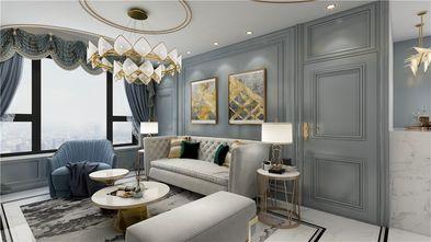 70平米一室两厅美式风格客厅设计图