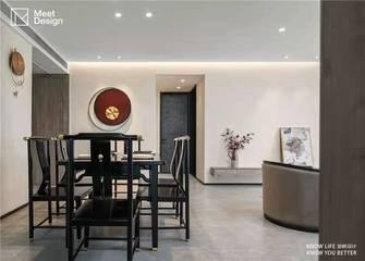130平米三中式风格餐厅设计图