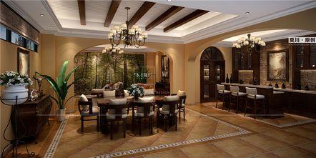 140平米别墅欧式风格阁楼装修图片大全