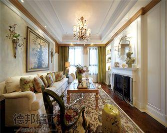 富裕型140平米四室两厅美式风格客厅飘窗设计图