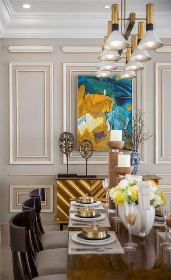 90平米三室两厅新古典风格餐厅效果图