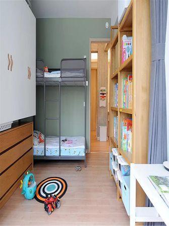 90平米日式风格儿童房图