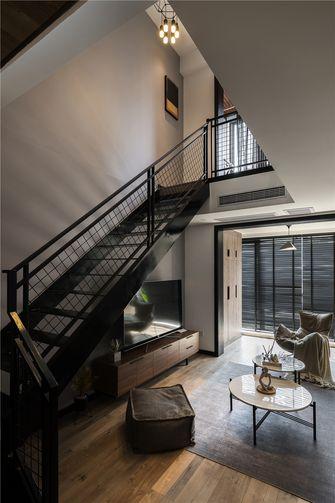 120平米三室两厅混搭风格楼梯间图片大全