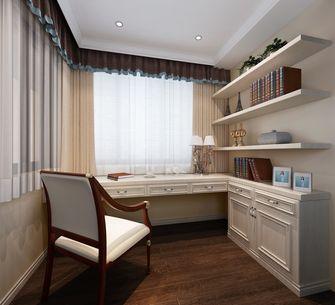 140平米别墅东南亚风格书房图片
