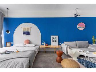 40平米小户型地中海风格卧室装修图片大全