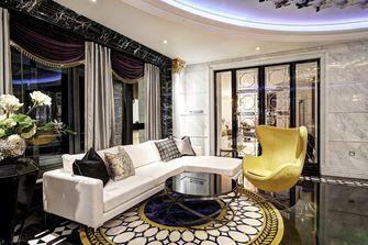 80平米新古典风格客厅装修效果图