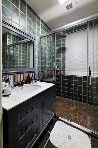 120平米三室两厅欧式风格卫生间设计图