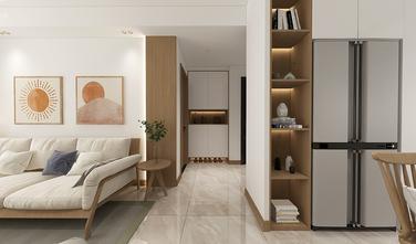 90平米三室两厅现代简约风格走廊设计图