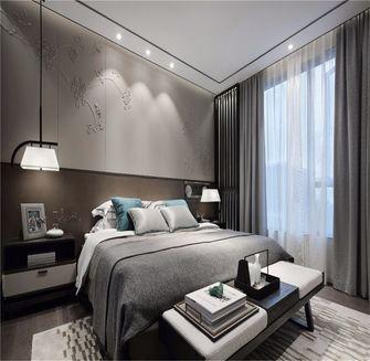 140平米三室四厅中式风格卧室图片大全