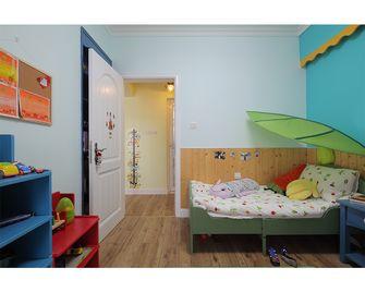 100平米三室一厅田园风格卧室欣赏图