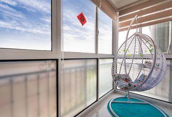 110平米三现代简约风格阳台装修图片大全