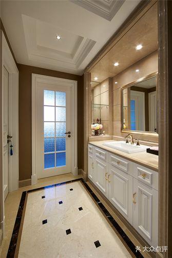 130平米四室两厅新古典风格卫生间图