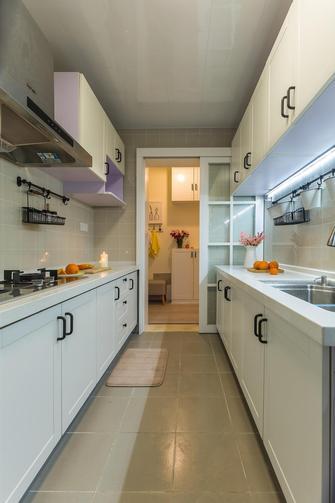 100平米三室两厅混搭风格厨房设计图