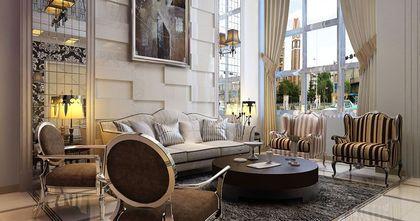 别墅新古典风格装修案例