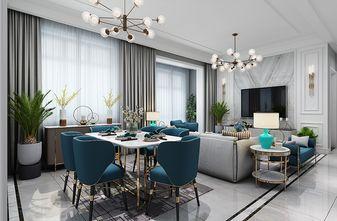 120平米四室两厅宜家风格餐厅设计图