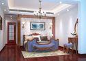 140平米四室四厅欧式风格卧室设计图