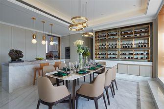 15-20万140平米三室两厅现代简约风格餐厅装修图片大全