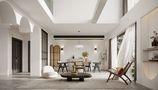 140平米别墅混搭风格客厅图
