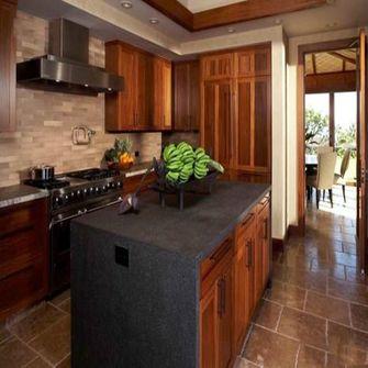 140平米四室两厅东南亚风格厨房装修案例
