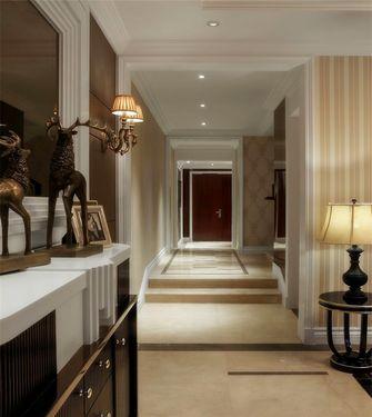 120平米三英伦风格走廊图片