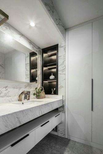 140平米三室两厅英伦风格卫生间欣赏图