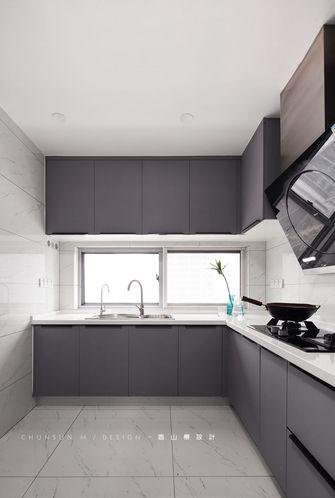 140平米三室两厅现代简约风格厨房图