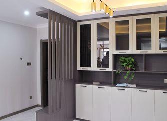 90平米一居室现代简约风格玄关效果图