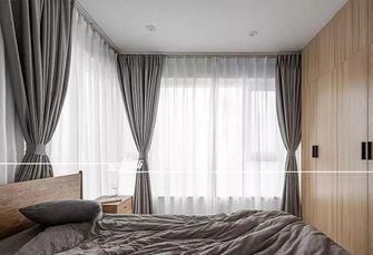 60平米三室一厅日式风格卧室装修效果图