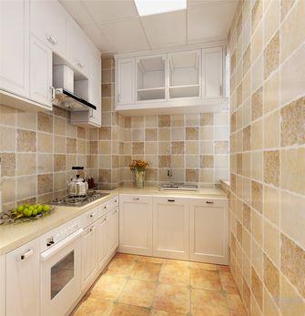 60平米一室一厅田园风格厨房欣赏图