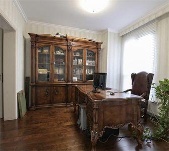 140平米复式欧式风格书房装修图片大全