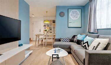 50平米一居室地中海风格客厅图片大全