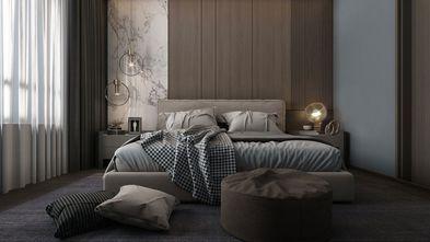 100平米一居室现代简约风格客厅装修效果图
