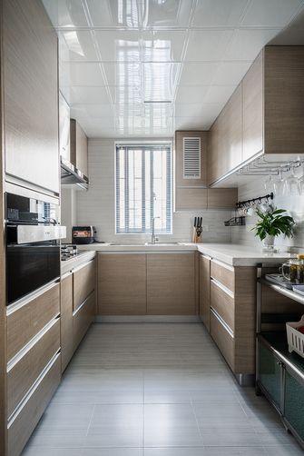 120平米复式现代简约风格厨房图片大全