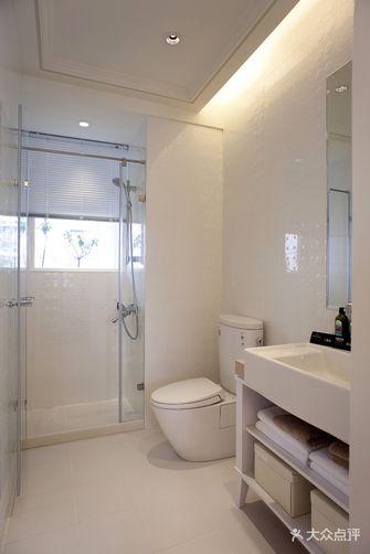 120平米三室两厅现代简约风格卫生间浴室柜欣赏图