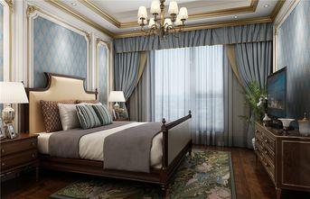 130平米三室两厅法式风格卧室设计图