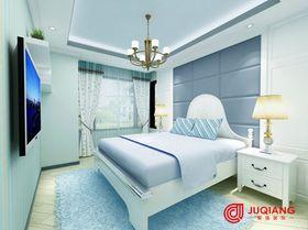 90平米三室一厅田园风格卧室图片