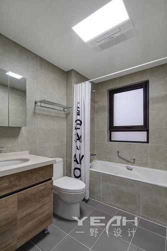 豪华型120平米三室五厅北欧风格卫生间图片
