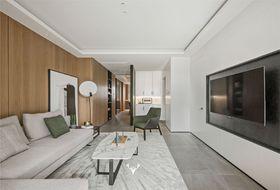 20萬以上130平米三室兩廳現代簡約風格客廳圖片