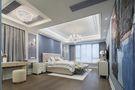 90平米三室一厅法式风格卧室图片