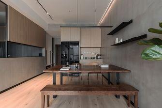 80平米一室一厅现代简约风格餐厅欣赏图