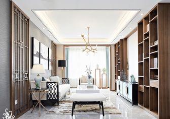 90平米三室两厅中式风格客厅装修效果图
